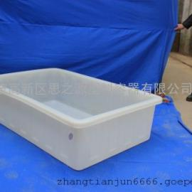 厂家供应连云港300L塑料水箱 PE养殖方箱