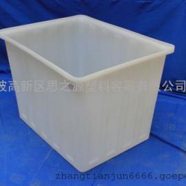 厂家供应塑料储蓄水容器养鱼池水产300L养殖方箱
