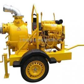 移动柴油机强力排污泵