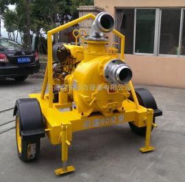 移动柴油泵车强力排污泵6寸柴油污水泵