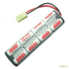 NiMH 2/3A1500mAh 9.6V玩具镍氢电池排型