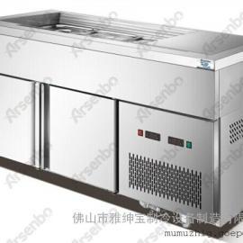 甜品加速器 分数盘沙拉保鲜冷柜 雅绅宝冷柜厂家