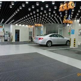 热浸锌停车场钢格板/停车场专用钢格栅板厂家【精造】