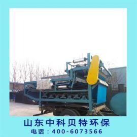 钾长石选矿泥浆处理设备推荐带式压滤机处理效果好