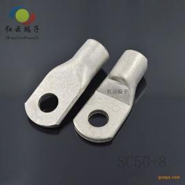 红云五金供应铜管端子铜鼻子绝缘冷压端子管型预绝缘端子价格