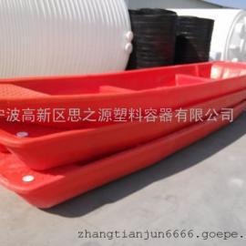厂家供应塑料6米渔船 全新进口PE 滚塑一次成型