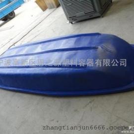 厂家供应河道清理塑料船 水产养殖塑料船 3米捕捞渔船