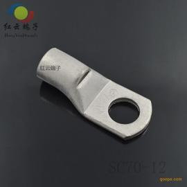 供应铜管端子铜鼻子冷压端子管型预绝缘端子红云五金报价