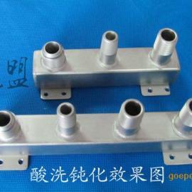 不锈钢酸洗钝化液快速去除焊斑和防锈二合一