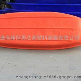 厂家供应 PE塑料塑料船6米 独木舟