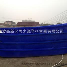 厂家供应铁岭可配马达挂机船3米 塑胶渔船