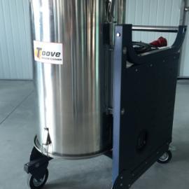 纺织厂专用工业吸尘器 拓威克纺织厂吸线头吸尘器