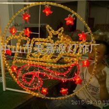 中国梦LED造型灯 中国梦灯杆挂件灯 户外装饰灯中国梦
