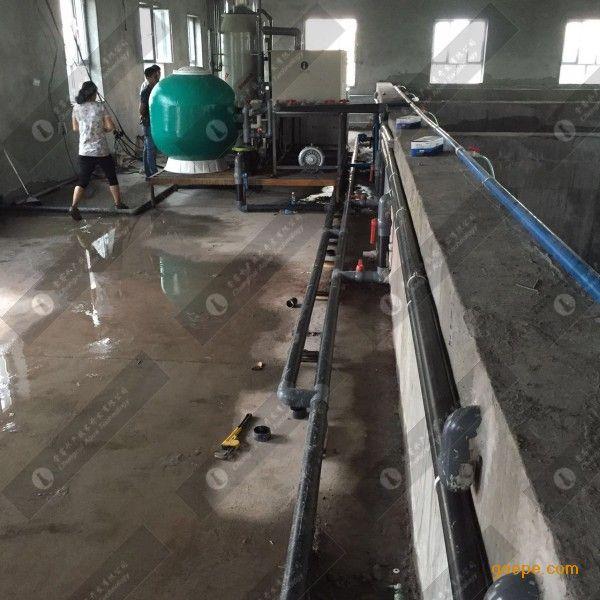 淡水鱼画轴循环水改造养殖-室内循环水-塑料渔场渔业挂设备