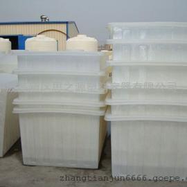 厂家供应160升方箱 车间塑料箱 PE塑料容器方桶