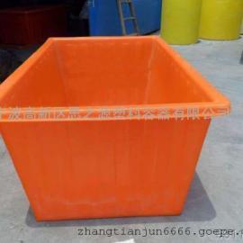 厂家供应1100L塑料方箱加厚塑胶容器周转箱
