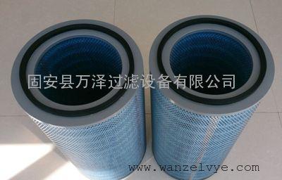 替代布袋式除尘滤筒 仓顶除尘器搅拌楼塑料端盖粉尘滤芯
