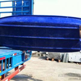 武汉3.2米渔船打渔塑料渔船塑料划桨渔船