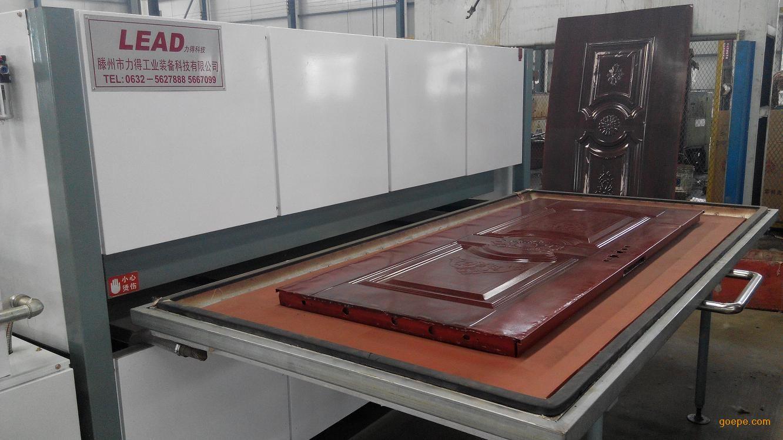 新型成型门体真空木纹转印机设备