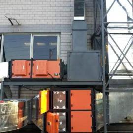 铸造厂固化炉废气净化器
