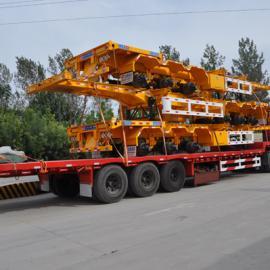 40英尺骨架车和13米集装箱平板车