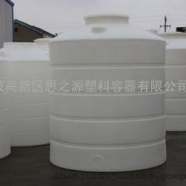 厂家供应8吨pe塑料水塔水箱 8立方混凝土外加剂塑料储罐
