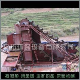 新疆使用小型淘金船_青州力拓