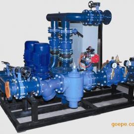 甘肃兰州智能型高低区直联混水机组