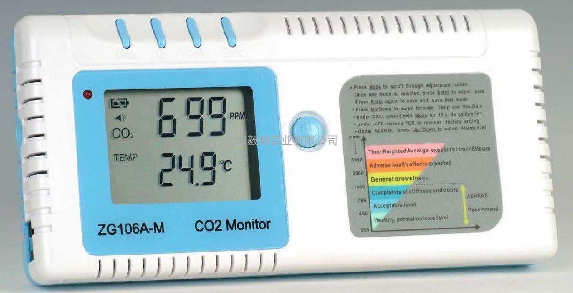 二氧化碳检测仪ZG106A-M