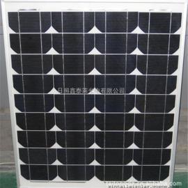 100瓦单晶太阳能电池板现货,太阳能发电系统,厂家供应,图
