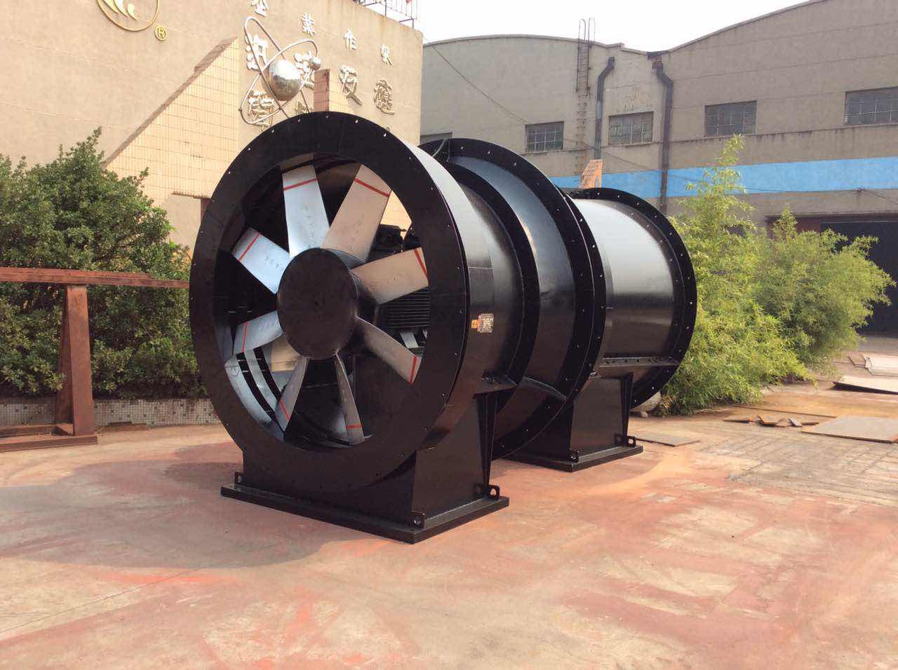 FKCDZ非煤矿山对旋抽出式负压主要通风机