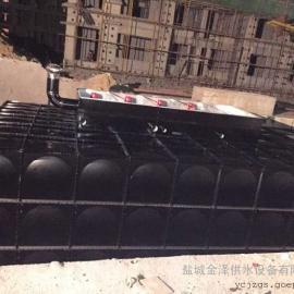 地埋式箱泵一体化恒压给水设备水箱内部拉筋结构图