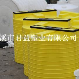 供应杭州水处理环保工程PE加药桶