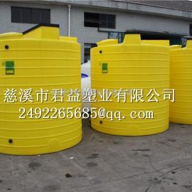 供应湖州水处理环保工程PE加药桶