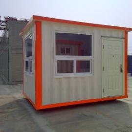 供应集装箱岗亭3*5米价格低厂家直销移动岗亭集装箱房屋