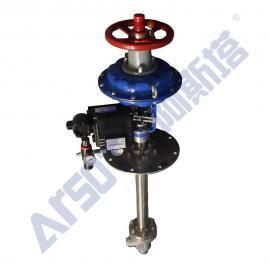 气动低温角式调节阀 低温角式调节阀 液氨角式调节阀