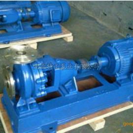 碱液循环泵 耐腐蚀化工排污泵 IH100-80-125A