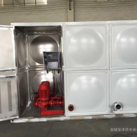 箱泵一体化消防增压稳压供水设备