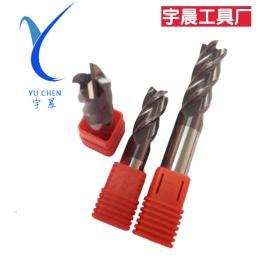 整体硬质合金铣刀 2刃钢用铣刀 厂家生产定做非标铣刀