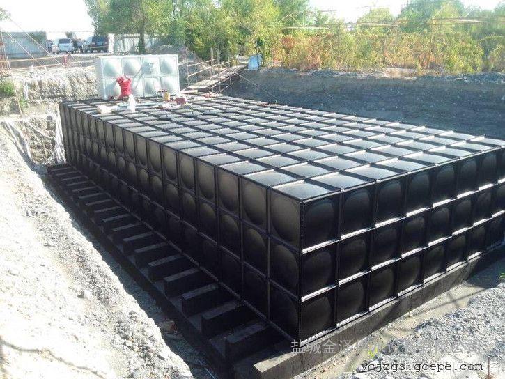 抗浮地埋式箱泵一体化恒压给水设备一体化泵站