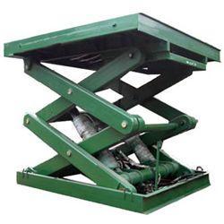 固定剪叉式升降货梯 可定做 佛山市,中山市哪里有做升降机