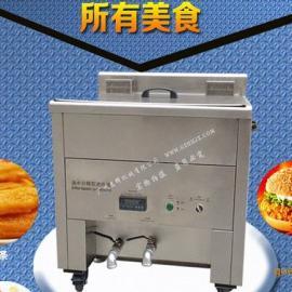 商用电动油水分离油条机 油炸锅商用 食堂电炸炉