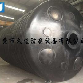 50吨黑色塑料水箱  污水 废水 电镀水PE容器水塔储罐