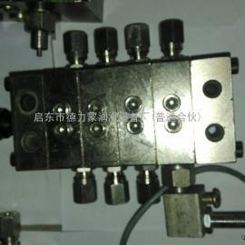 厂家直供JPQS递进式分配器 JPQS单线递进式分配器