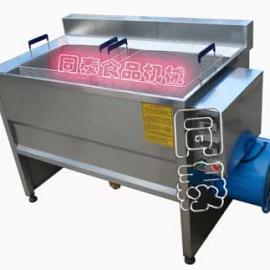 电加热油炸锅,自动油炸机器
