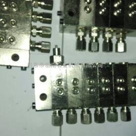 厂家直销JPQS8/7-10/6D-P递进式分配器