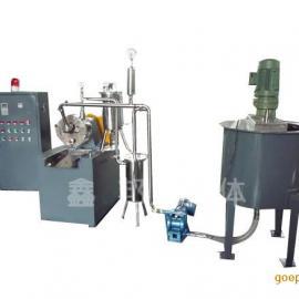 纳米超细磨砂磨机 无锡卧式砂磨机 鑫邦砂磨机批发生产