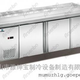 UC-12L1披萨柜/比萨工作台冷柜/保鲜冷藏不锈钢柜