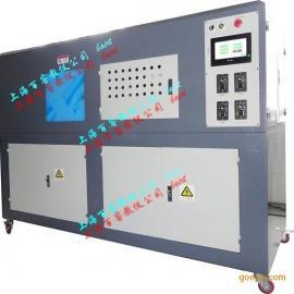 全自动挤、吹、吸、压、冲裁多功能五合一成型机组