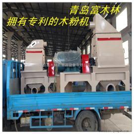 PE木塑粉生产木粉机 稻壳秸秆粉碎机 耐磨防损锤片式木粉机